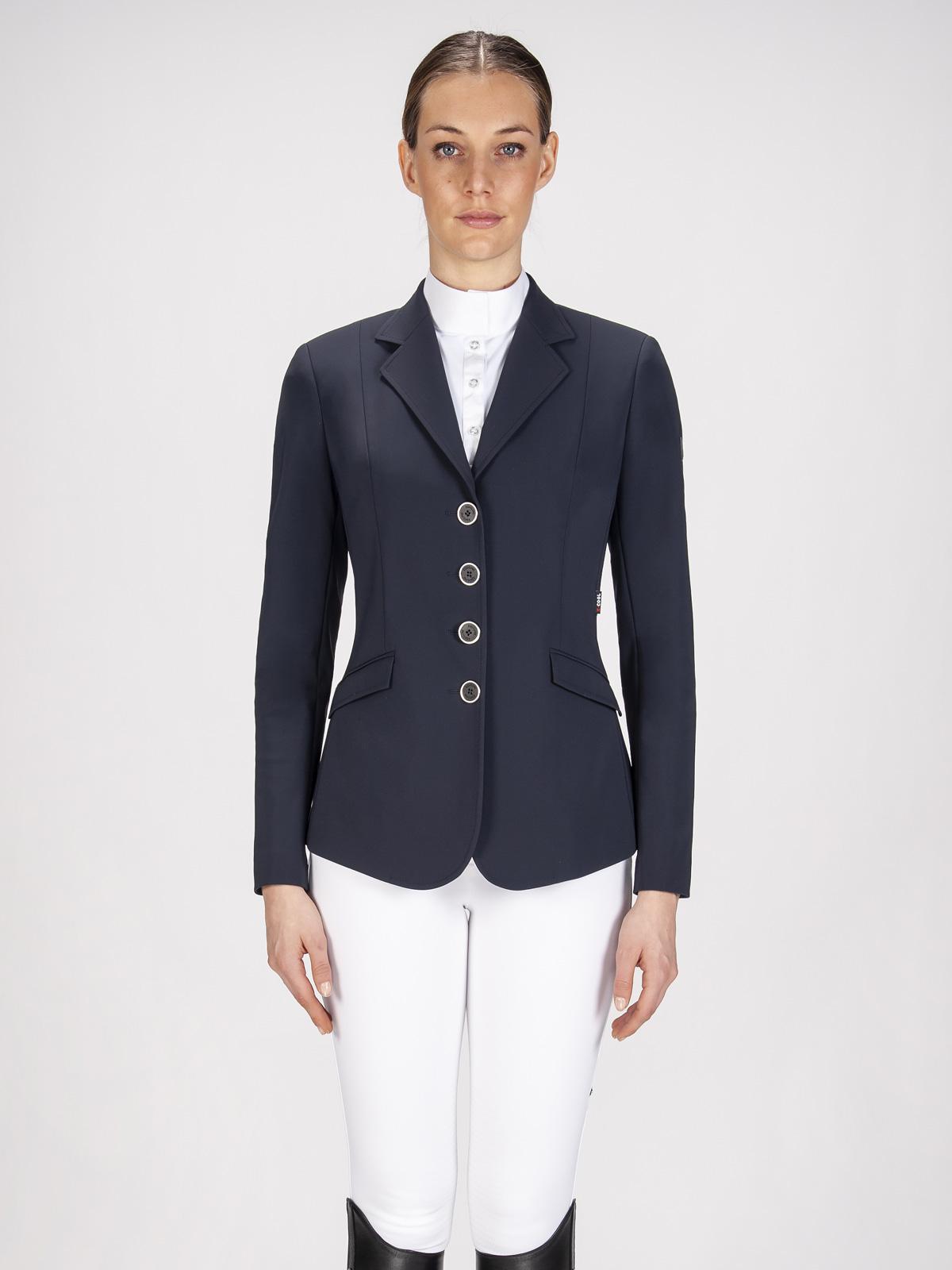 Gait women's show coat in X-Cool Evo performance fabric navy blue