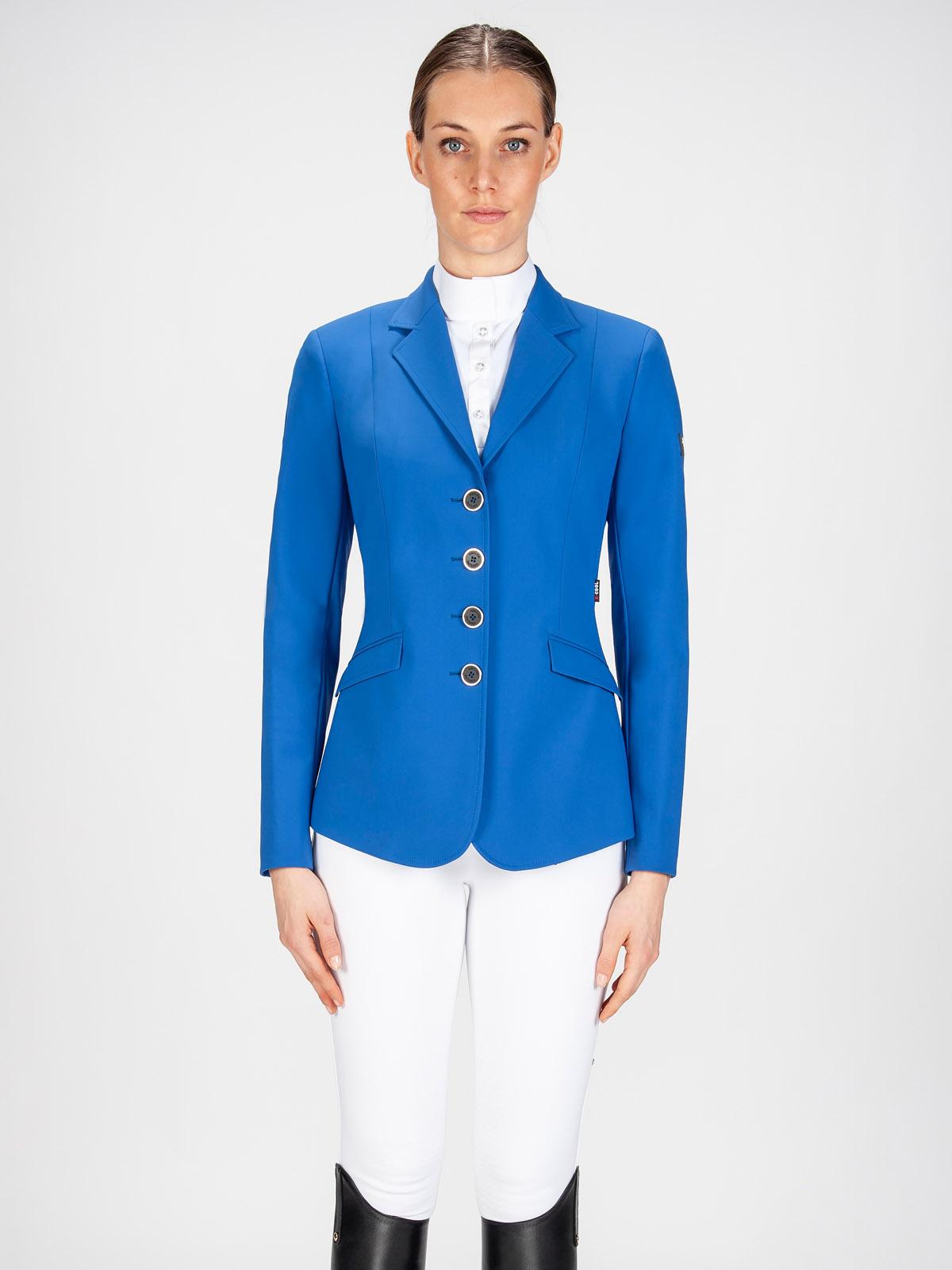 Gait women's show coat in X-Cool Evo performance fabric royal