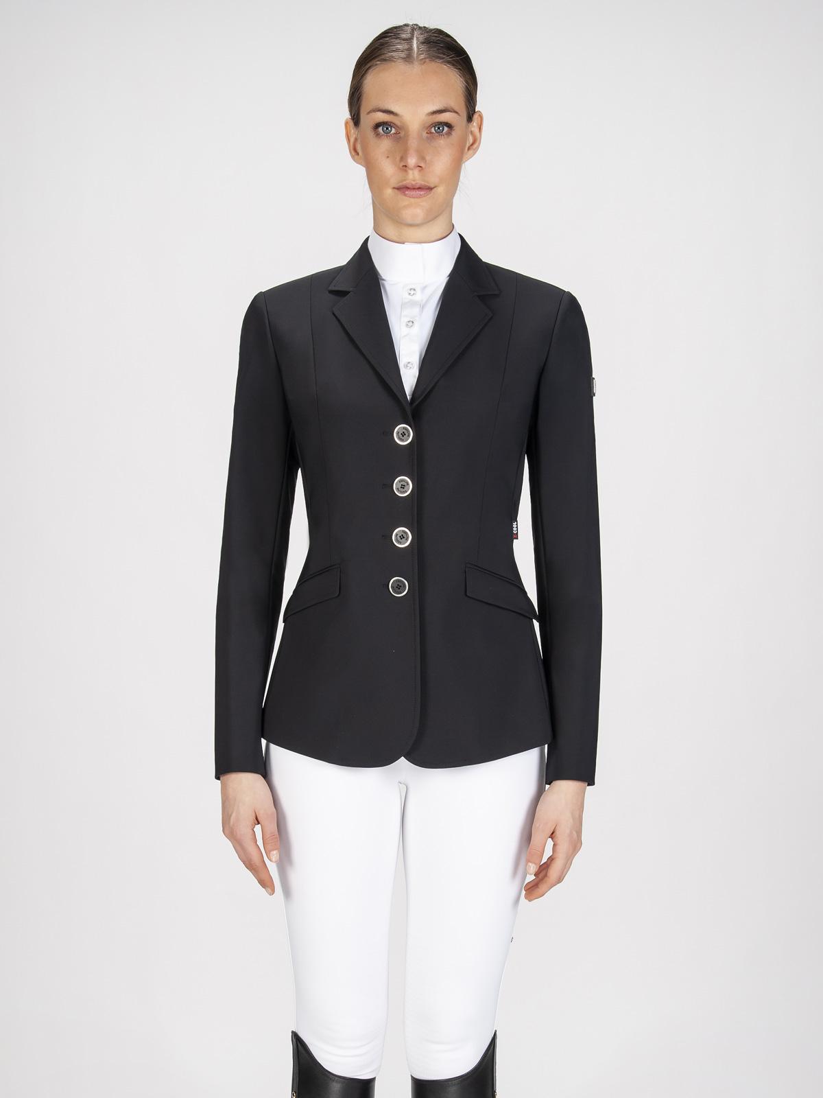 Gait women's show coat in X-Cool Evo performance fabric black