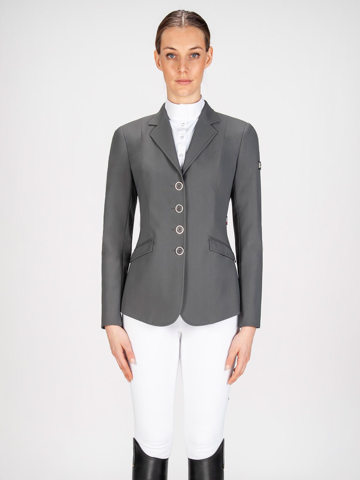 Gait women's show coat in X-Cool Evo performance fabric grey