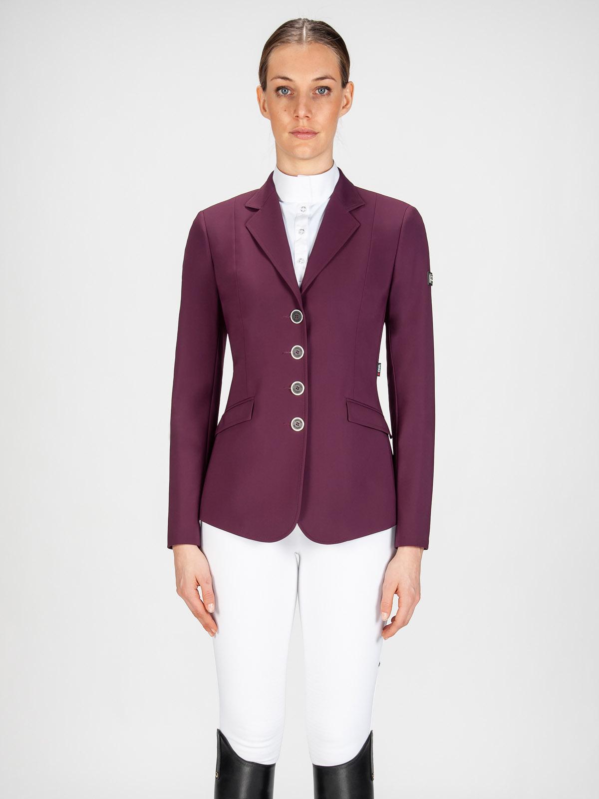 Gait women's show coat in X-Cool Evo performance fabric bordeaux